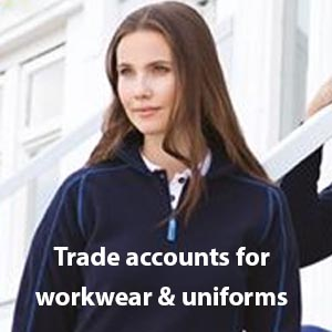 Work wear account application form for cheapest embroidered uniform