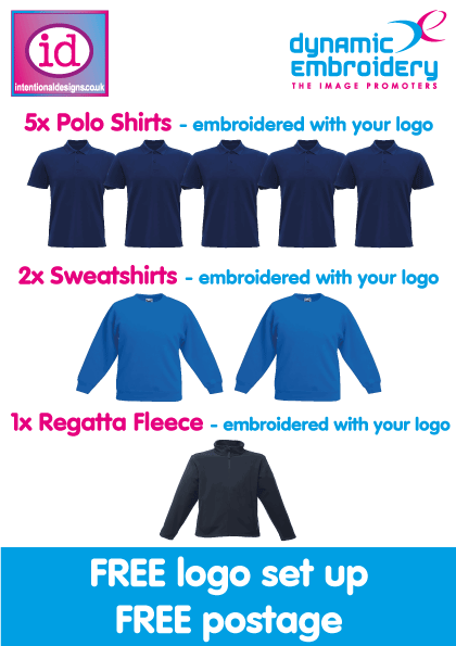 Cheap embroidered workwear package | agent bundle Best prices from Dynamic Embroidery